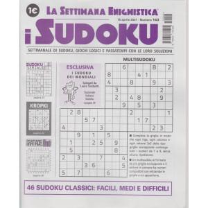La settimana enigmistica - i sudoku - n. 143 - 15  aprile    2021 - settimanale