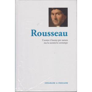 Imparare a pensare - Rousseau - n. 14 - settimanale -29/4/2021 - copertina rigida