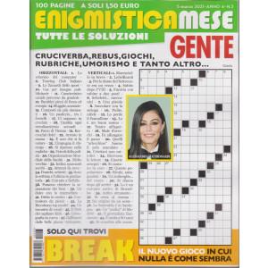 Enigmistica Mese Gente - n. 3 - 5 marzo 2021 - mensile - 100 pagine