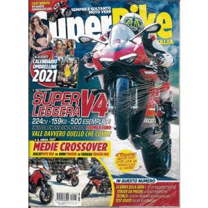 Superbike Italia - n. 1 - mensile - Gennaio 2021 - con calendario Ombrelline 2021