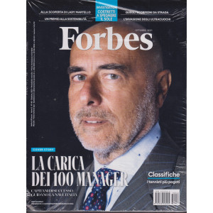Forbes   - n.48  - ottobre 2021 - mensile -+ Bike - 2 riviste