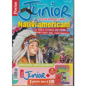 Focus Junior + Focus junior best  - n. 212/2021 - 2 riviste