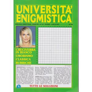 Università enigmistica - n. 121 - bimestrale -giugno - luglio  2021