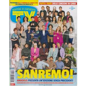 Sorrisi e Canzoni tv -n.   8 - settimanale - 23 febbraio 2021