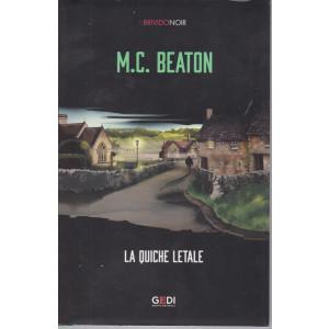 Brivido Noir -M.C. Beaton - La quiche letale - n. 39 - settimanale - 25/2/2021 -249  pagine
