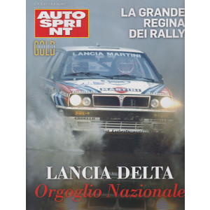 Autosprint Gold collection - n. 16   - Lancia Delta Orgoglio Nazionale