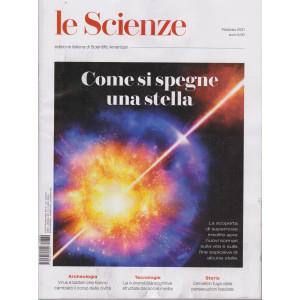 Le Scienze -Come si spegne una stella n. 630 - febbraio 2021 - mensile