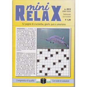 Mini Relax - n. 2013 - settimanale - 22/12/2020