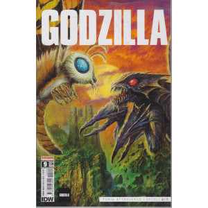 Godzilla - n. 9-   - Furia attraverso i secoli 2/3 -  mensile -12/62021
