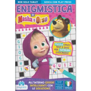 Enigmistica di Masha e Orso - n. 2 - aprile - maggio  2021 - bimestrale