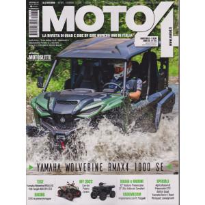 Moto 4 -n. 170 - bimestrale - agosto - settembre 2021 -