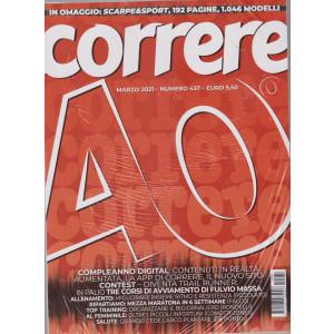 Correre - n. 437 -marzo  2021 - mensile + Scarpe & Sport - 2 riviste