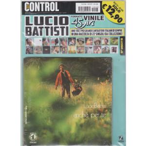 Saifam Music Control - Lucio Battisti - Anche per te - rivista + 45 giri -  nona uscita -