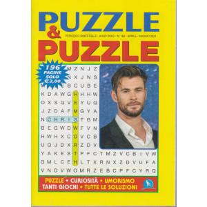 Puzzle & Puzzle - n. 169 - bimestrale -aprile - maggio 2021 - 196 pagine