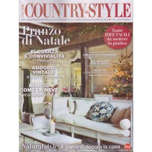 Country style - n. 8 -novembre - dicembre 2021 - bimestrale