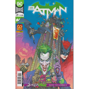 Batman -n. 21-  -  quindicinale - 15 aprile  2021