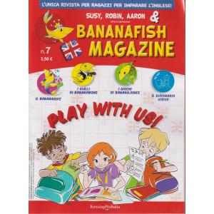 Bananafish magazine - n. 7 - 17 settembre 2021 - trimestrale