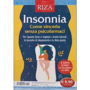 I manuali di Riza -Insonnia - Come vincerla senza psicofarmaci -  - n. 26- giugno - luglio 2021