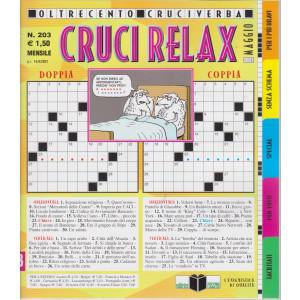 Cruci Relax - n. 203- mensile -maggio 2021