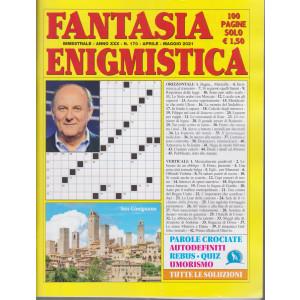 Fantasia Enigmistica - n. 170 - bimestrale -aprile - maggio  2021 - 100 pagine