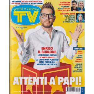 Sorrisi e Canzoni tv -n. 37 - settimanale  - 14/9/2021
