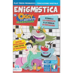 Enigmistica di Oggy  e i maledetti scarafaggi - n. 24 - bimestrale - maggio - giugno  2021