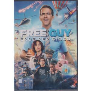 I Dvd Cinema di Sorrisi - n. 22 -Free Guy eroe per gioco  - settimanale -  novembre 2021