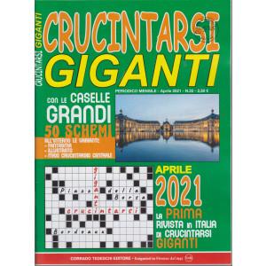 Crucintarsi giganti - n. 22 - mensile -aprile  2021