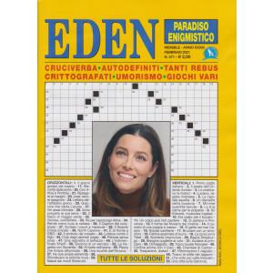 Eden - Paradiso enigmistico - n. 371 - mensile - febbraio 2021
