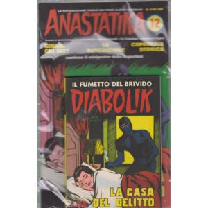Diabolik + Anastatika - n. 12  del 1963 - La casa del delitto  - settimanale -