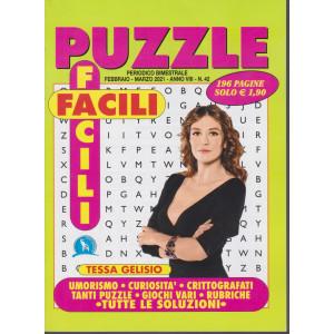 Puzzle Facili Facili - n. 42 - bimestrale - febbraio - marzo 2021 - 196 pagine