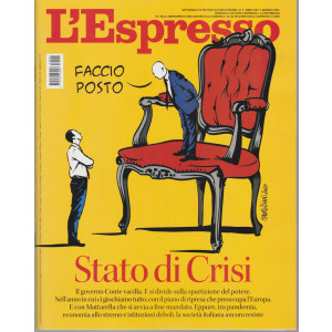 L'espresso - n. 2 - settimanale -3 gennaio 2021