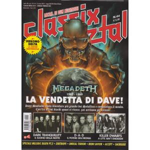 Classix! Metal -    n. 44- gennaio - febbraio 2021 - bimestrale