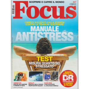 Focus - n. 347 - settembre   2021 - mensile