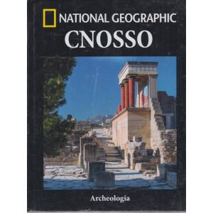 National Geographic - Cnosso- n. 14  -Archeologia -  settimanale -30/4/2021 - copertina rigida