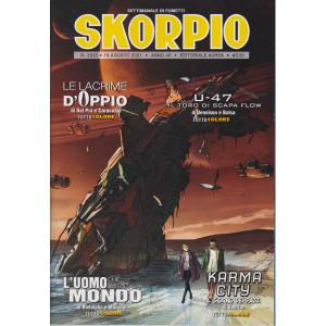 Skorpio - n. 2320 - 19 agosto 2021 - settimanale di fumetti