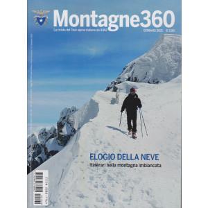 Montagne 360 - n. 100 - gennaio 2021 - mensile -