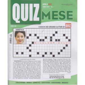 Domenica Quiz Mese - mensile n. 4 - aprile    2021