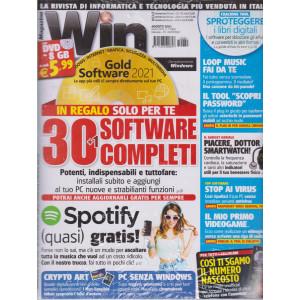 Win Magazine -+ dvd da 8 gb -  n. 280 -agosto 2021 - mensile
