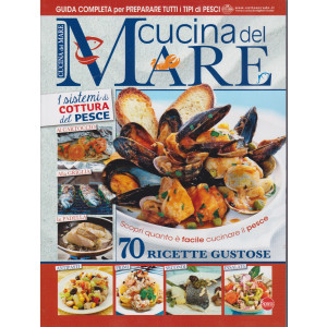Cucina del mare - n. 1 - gennaio - febbraio 2021 - bimestrale
