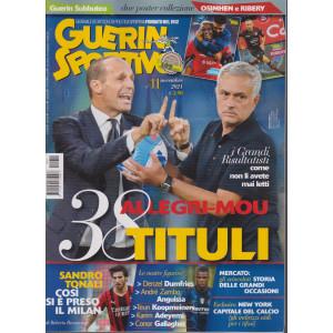 Guerin sportivo - n. 11 - novembre 2021 - mensile