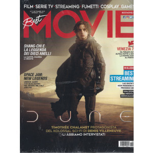 Best Movie - n. 9   -settembre  2021 - mensile + Best Streaming - 2 riviste
