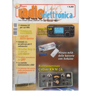 Radiokit elettronica - n. 5  - mensile - maggio 2021