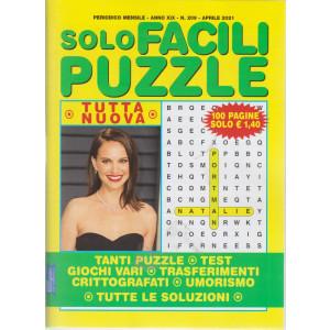 Solo Facili Puzzle - n. 209 - mensile - aprile   2021 - 100 pagine