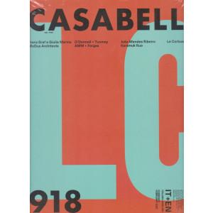 Casabella continuità - mensile n. 918 -  febbraio 2021 - italiano - english