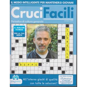 Crucifacili - n. 209 - Beppe Fiorello - bimestrale - 17/12/2020 -
