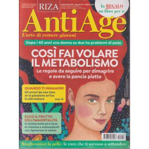 Riza Antiage - n. 41 -Così fai volare il metabolismo- settembre  2021 - mensile + In regalo La dieta dei cereali - 2 riviste