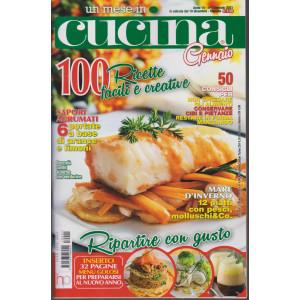 Un mese in cucina - n. 1  - gennaio 2021 - mensile - 100 ricette facili e creative