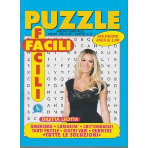 Puzzle Facili Facili - n. 44 - bimestrale -giugno - luglio  2021 - 196 pagine
