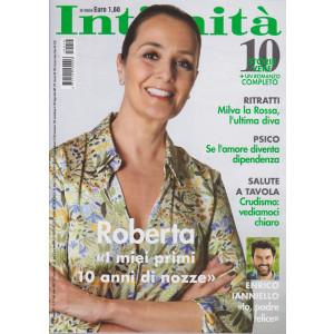 Intimita' -  n. 19 - settimanale -   maggio   2021